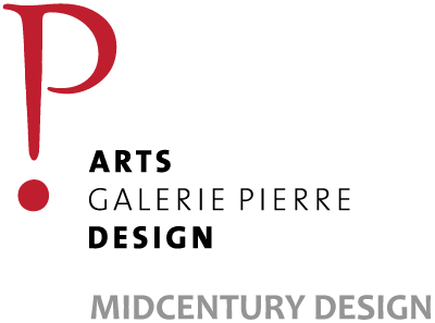 GALERIE PIERRE ARTS DESIGN VINTAGE Logo