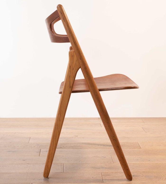 chaise sawbuck CH 29 Hans Wegner pour Carl Hansen
