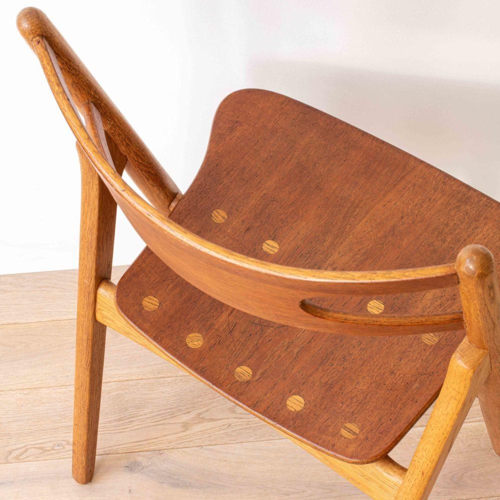 chaise sawbuck CH 29 Hans Wegner