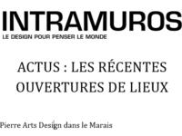 Intramuros Galerie Pierre Arts & Design