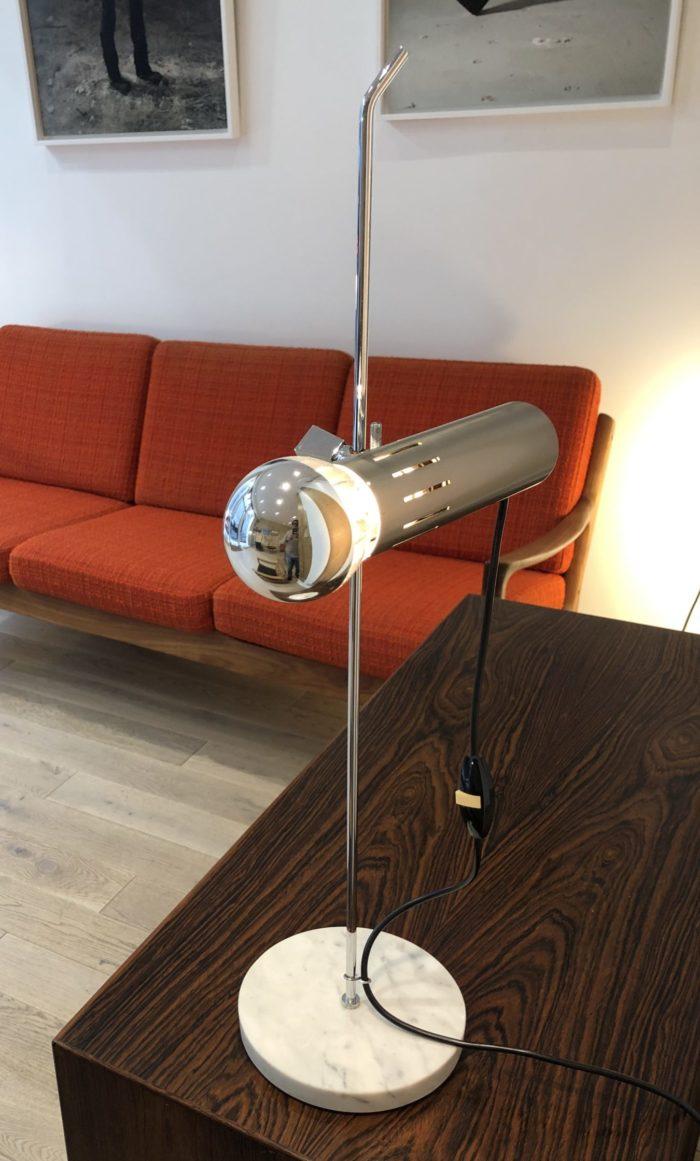 Lampe de table Alain Richard A4 édition Disderot base marbre