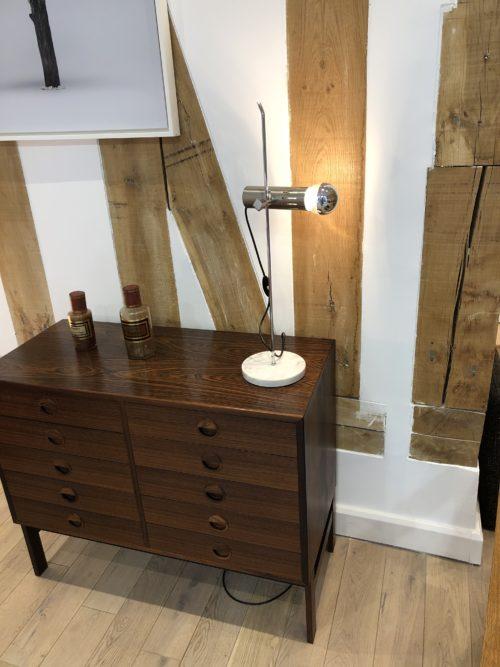 Alain Richard for Disderot table lampe model A4 marble base