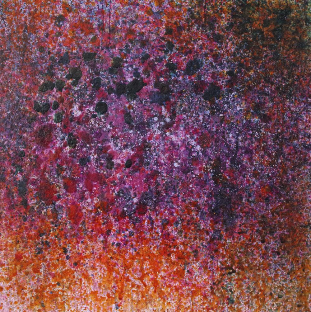 Shitomi Murakami acrylique sur toile 100 x 100